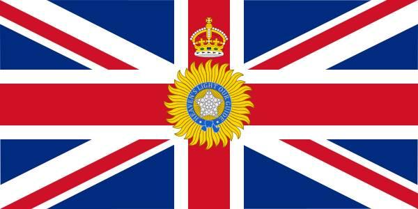 FLAG OF BRITISH INDIA
