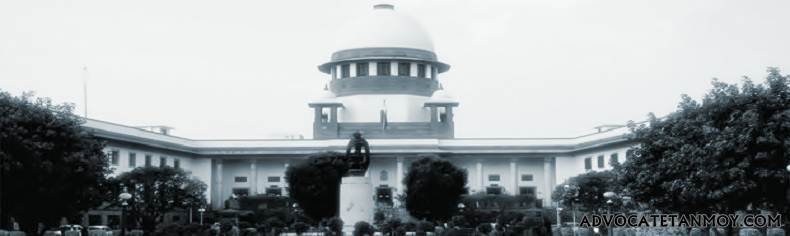 SUPREME COURT OF INDIA JUDGMENTS