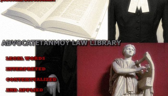 JUDICIAL DICTIONARY
