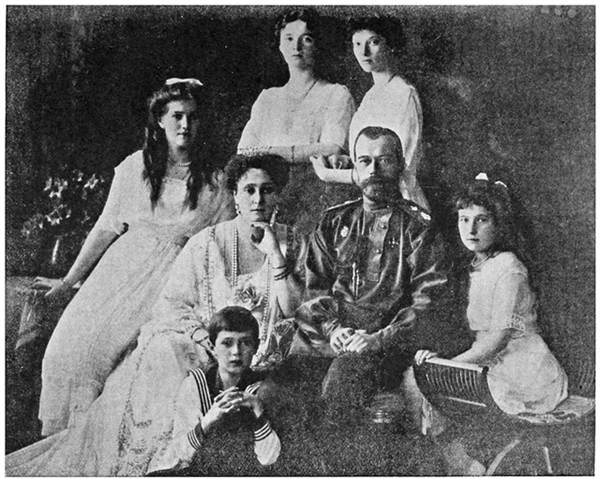 Ex-Czar and His Family